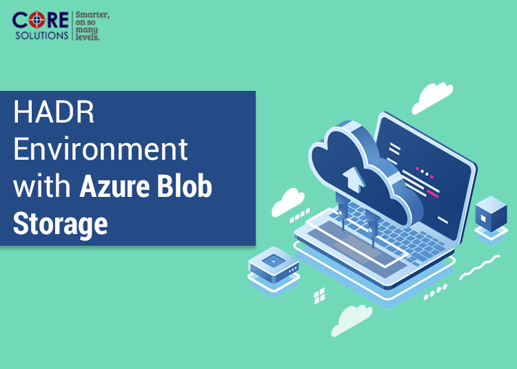 HADR Environment with Azure Blob Storage