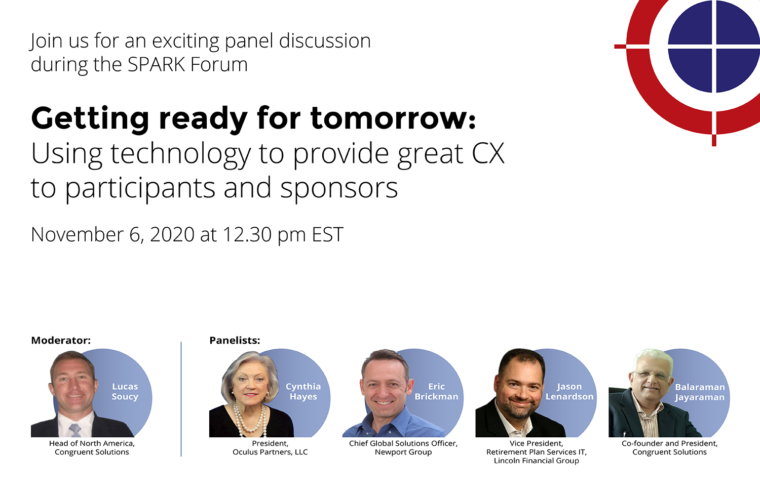 Using technology to provide great CX to participants and sponsors